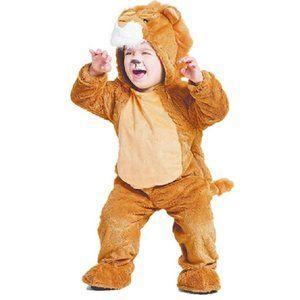 Hyde & Eek Baby LION Halloween Costume 18/24 Mo NW